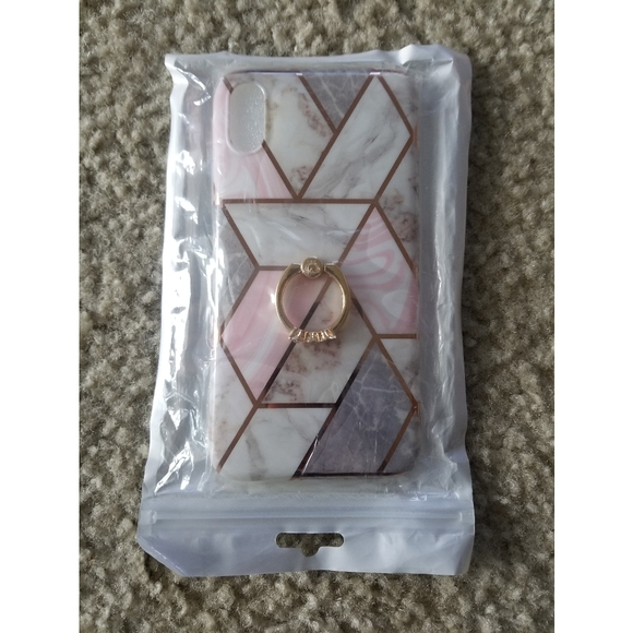 Iphone XR Bling Marble Case